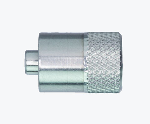 SSALZ3301 Male Luer Lock to closed end, knurled